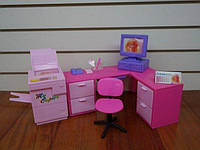 """Мебель для кукол Gloria """"Офис"""" (96014)"""