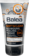 Маска лица Balea Soft & Clear 3in1 Aktivkohle,150 ml