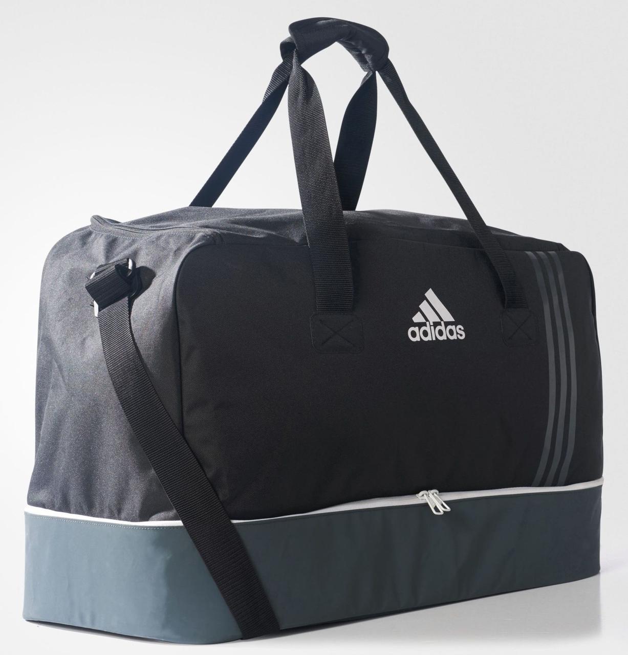 e0e8b7c5 Спортивная сумка ADIDAS Tiro Team Bag Large B46122, черный/серый -  SUPERSUMKA интернет магазин
