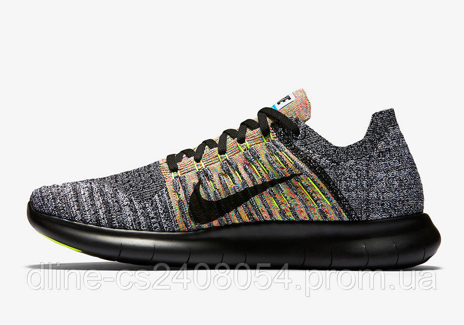 Nike Free Run Flyknit Grey/Black