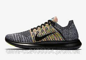 Nike Free Run Flyknit Grey/Black