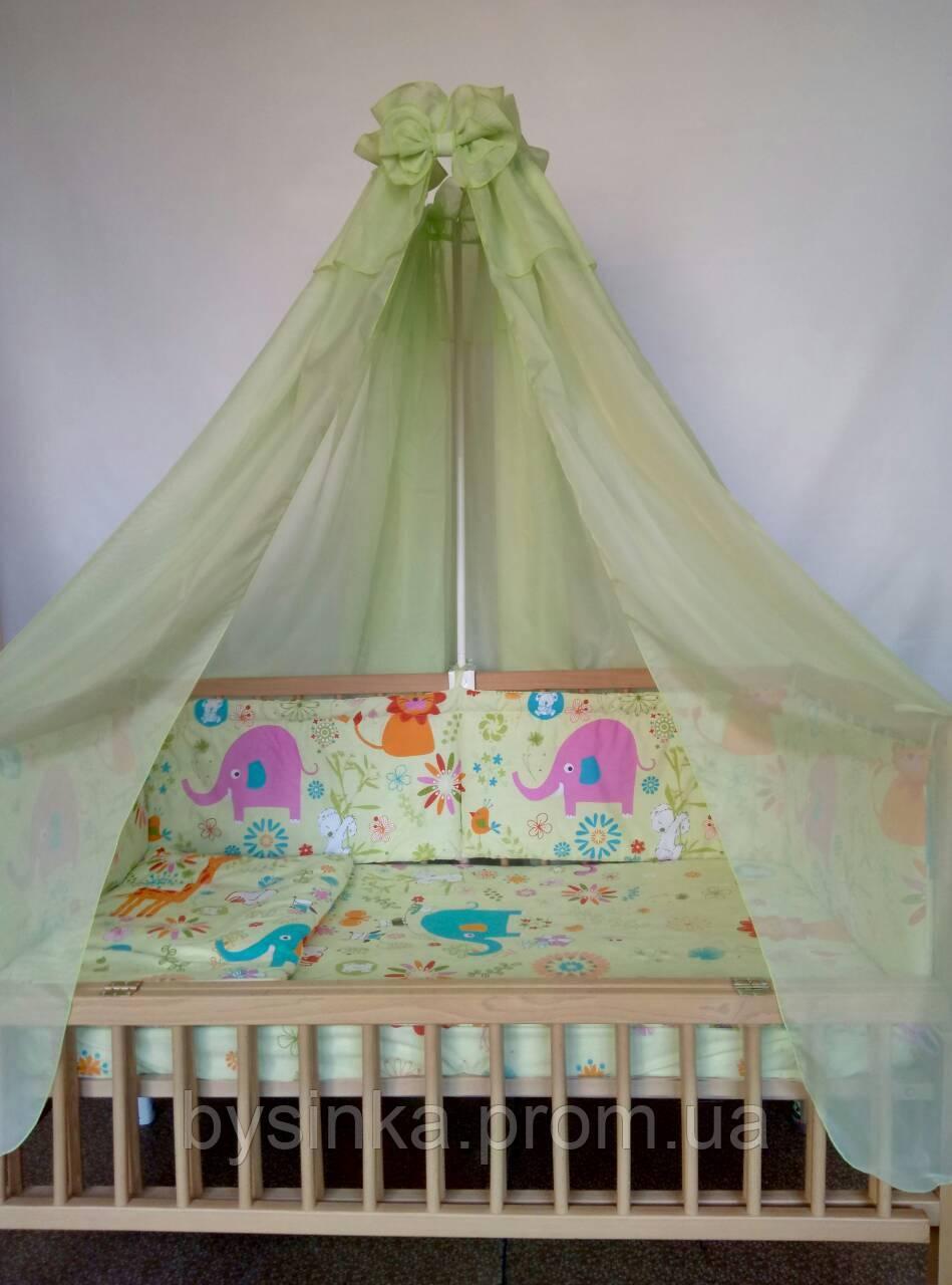 Детское постельное белье из 6 ед.(без балдахина и кармана)- Африка, серия Organic Cotton
