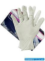 Перчатки латексные, слегка припудренные RALAT-SEM-P T
