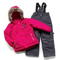 Зимний термокостюм для девочки 3-8 лет (куртка и полукомбинезон), р. 98-134 ТМ Peluche&Tartine Lollipop F17 M 62 EF