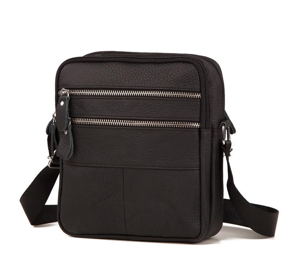 Мужская кожаная сумка Tiding Bag M38-3923A