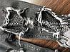 Джинсы для девочки рваные с сеткой., фото 3