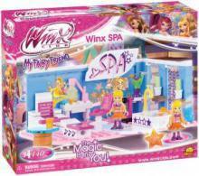 Конструктор для девочки феи Винкс  СПА-центр ВИНКС 140 деталей (25144)