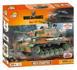 Конструктор COBI World of Tanks M24 Чаффи, 370  деталей COBI-3013