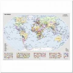 Пазлы Ravensburger 'Политическая карта Мира, 1000 элементов '