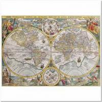 Пазлы Ravensburger  'Историческая карта, 1500 элементов '