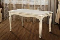 Стол МИКС-Мебель Венецианский 1000*600 (слоновая кость), фото 1
