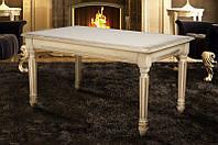 Стол МИКС-Мебель Готика 1000*600 (слоновая кость), фото 1