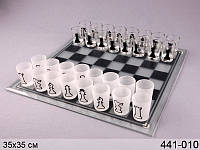 """Настольная игра """"Пьяные шахматы"""" из стекла 441-010"""