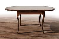 Стол МИКС-Мебель Твист 1260(+340)*810 (темный орех), фото 1