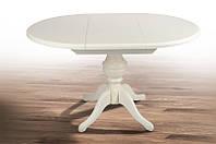 Стол МИКС-Мебель Гермес d=890(+380) (ваниль)