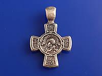 Нательный крестик с ликами святых (Литье)