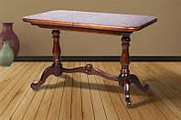 Стол МИКС-Мебель Дуэт 1100(+300)*650 (орех), фото 1