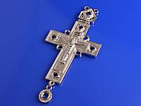 Кресты наперсные посеребренные (Литье)