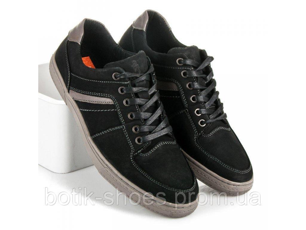 a7bf155dd6e7 Кожаные польские туфли мужские Mazaro SD72-1 черные
