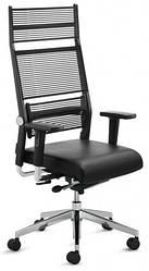Кресло офисное руководителя c высокой спинкой Enrandnepr LORDO DAUPHIN Черный