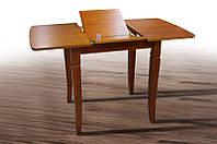Стол МИКС-Мебель Линда 800(+350)*650 (коньяк), фото 1