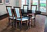 Стол МИКС-Мебель Говерла 1600(+400)*900 (темный орех)