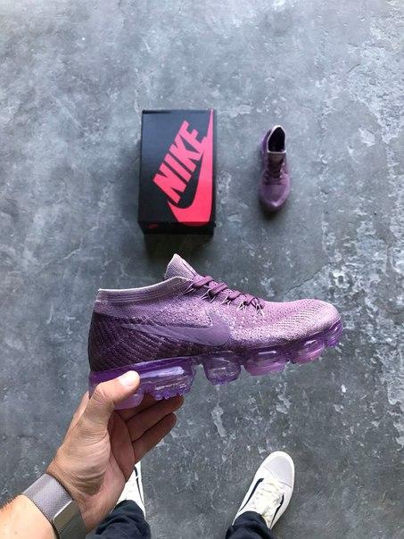 """Женские кроссовки Nike Air VaporMax """"Violet Dust"""", Копия"""