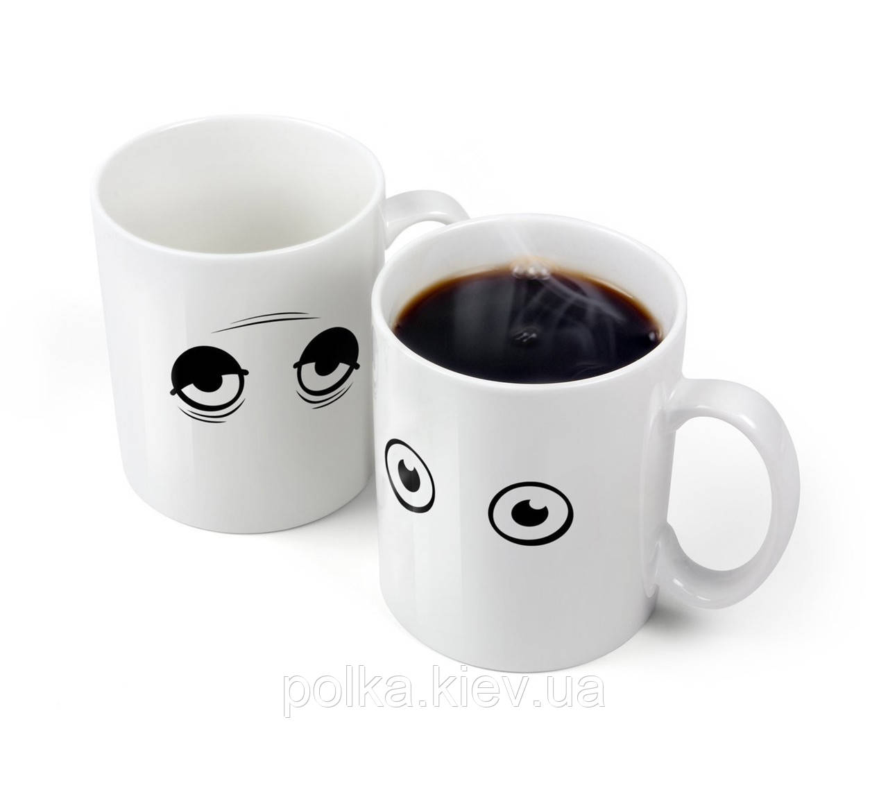 Чашка - хамелеон Глазки Wake Up