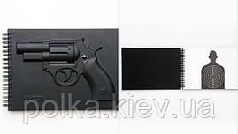 Блокнот Револьвер 3D