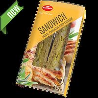 Сендвич с курицей и сыром