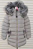 Зимнее пальто для девочек,Размер 8-16,Фирма TAURUS,Венгрия