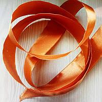 Лента атласная коричневая 3 (25 мм) - 5 метров