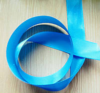 Лента атласная синь (25 мм) - 5 метров (товар при заказе от 200 грн)