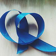 Лента атласная синяя (25 мм) - 5 метров  (товар при заказе от 200 грн)