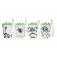 Чашка с вакуумной крышкой Starbucks, 400мл