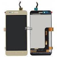 Дисплей для Huawei Y3 II/LUA-U03/U22/U23/L03/L13/L23 + touchscreen, (версия 3G), золотистый