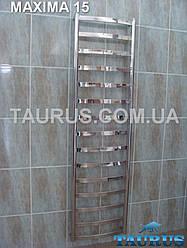 Огромный полотенцесушитель Maxima 15/500 в ванную комнату. Высота 1550мм. Водяной, электро, комби.