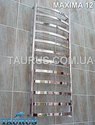 Полотенцесушитель Maxima 12 с плоскими перемычками из н/ж стали 30х10: Высота 1250; ширина 500 мм.