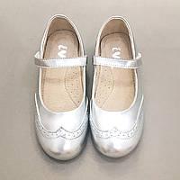 Туфли для девочки Evie Shoes Baila Silver 190201