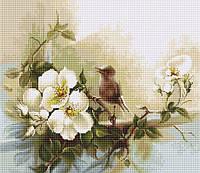 """Набор для вышивания крестом """"Luca-s"""" BA2315 Птичка"""
