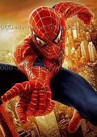 Печать съедобного фото - А4 - Вафельная бумага - Человек-паук №50, фото 1