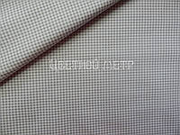 Ткань польская бязь клетка серая
