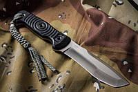 Нож туристический Vendetta Сатин D2, камо ножны, Kizlyar Supreme