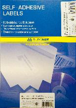 Этикетки самоклеящиеся 16шт., 105х37,1мм bm.2834