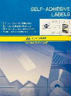Прямоугольные самоклеящиеся этикетки buromax bm.2831 14 штук 105х42,3мм