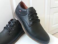 Осенние мужские кожаные туфли