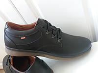 Туфли мужские осенние в коже