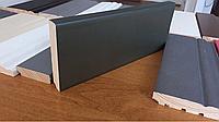 Плинтус темно-зелёный металлик 100х16 мм