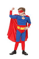 Супермен Superman с мышцами