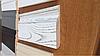 Плинтус Ясень белый с золотой патиной 120 мм